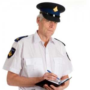 Politie-boete